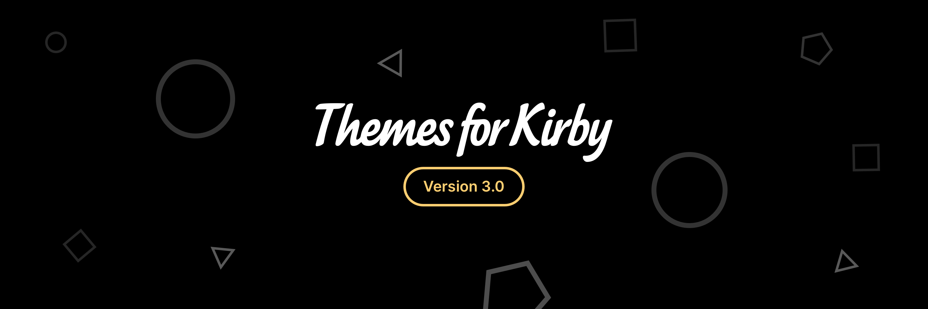 Themes for Kirby 3.0