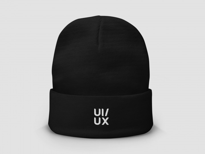 UI/UX – Embroidered Beanie